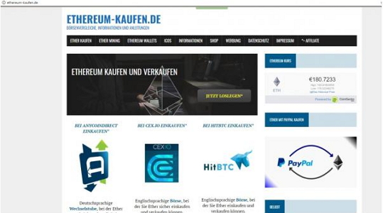 Ethereum-Kaufen
