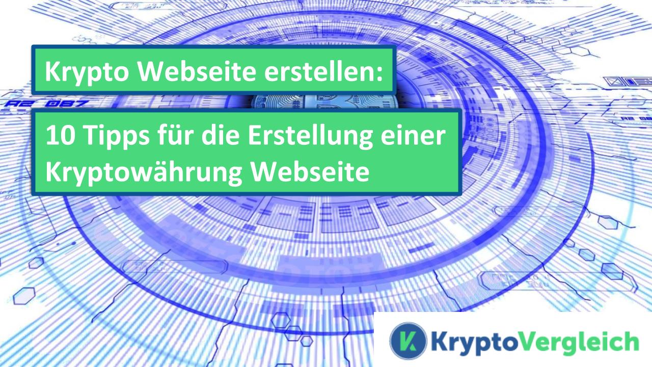 krypto-webseite-erstellen