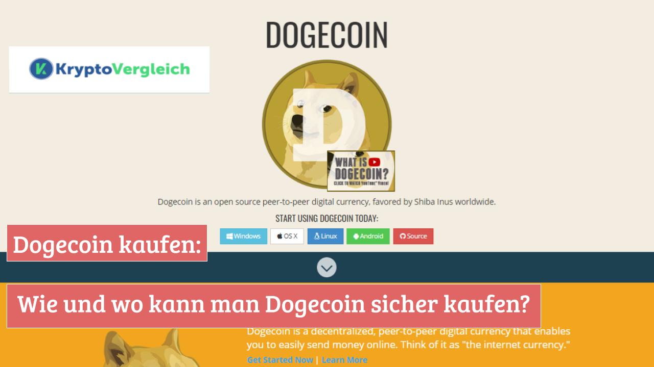 Dogecoin Kaufen